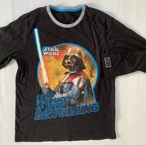 Star Wars Darth Vader long sleeve tee